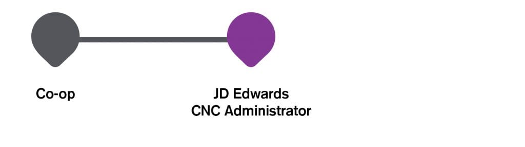 Infographic IT career path to JDE CNC