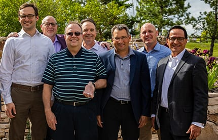 ERP Suites receiving the 2019 Oracle Distinguished Partner Award